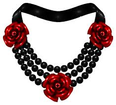 red rose necklace images Red rose necklace by phil4u png