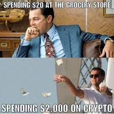 how i feel spending 20 at grocery store vs spending 2 000 on