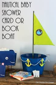 baby shower bring a book instead of a card nautical baby shower card or book boat the country chic cottage