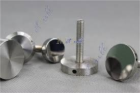 Decorative Stainless Steel Screws Custom Made Stainless Steel Solid Hat Decorative Screws Handle