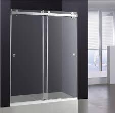 Sliding Tub Shower Doors Sliding Glass Shower Door Broadway Vanities