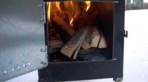 Diy Tent Wood Stove Proto 1 Youtube - create a new editorial ammo box stove youtube