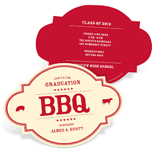 Name Cards For Graduation Invitations Bbq Graduation Party Ideas The Bbq Bash Pear Tree Blog