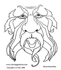 Wood Carving Free Download by Free Wood Burning Tracing Patterns Wood Spirit Mega Pattern