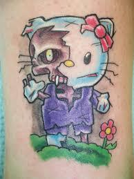 zombie hello kitty tattoos rebelcircus com