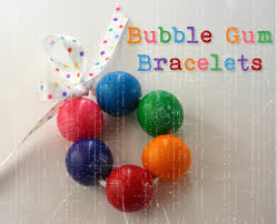 Edible Candy Jewelry Being Creative To Keep My Sanity Bubble Gum Bracelets
