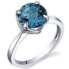 london blue topaz engagement ring sublime solitaire 2 25 carats london blue topaz ring