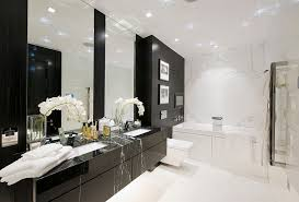 black white and bathroom decorating ideas beautiful black and white bathrooms design ideas decor accessories