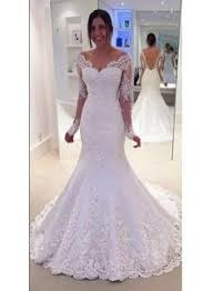 the shoulder wedding dress new high quality trumpet mermaid wedding dresses buy cheap