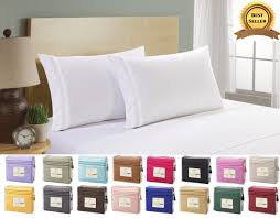 Best Bed Sheets by Superior Comfort 1800 Count 4 Piece Deep Pocket Bed Sheet Set Ebay