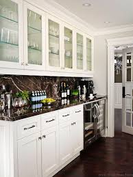 kitchens floor to ceiling glass front white kitchen cabinets