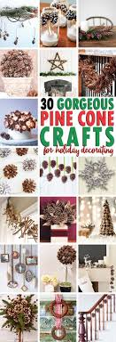 25 unique pine cones ideas on pine cone decorations
