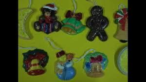 christmas plaster ornaments diy youtube
