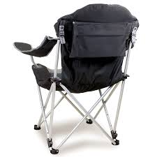 Coleman Reclining Camp Chair Reclining Camp Chair Black Picnic Time 803 00 175 Folding