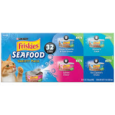 purina friskies seafood variety pack cat food 32 5 5 oz cans
