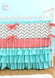 Grey Chevron Crib Bedding Set Blue And Grey Chevron Baby Bedding Navy Blue Chevron Crib Bedding