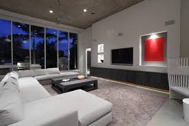 Modern Family Room Modern Family Room Miami By Browns - Modern family rooms