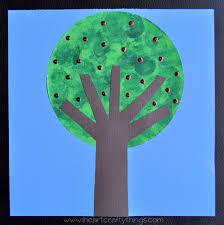 apple tree craft u2013 kids diy