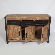 buffet bureau bureau bois et m tal industriel meubles et rangements bureau avec