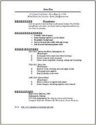 15 resume for housekeeping resume template info housekeeping