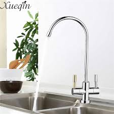 stainless faucets kitchen xueqin stainless steel 1 4 ro kitchen 360 degree drinking water