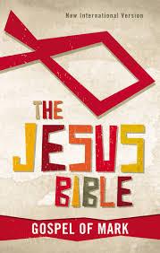 niv the jesus bible gospel of mark paperback zonderkidz