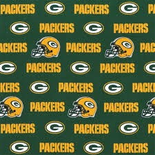 green bay packers nfl cotton