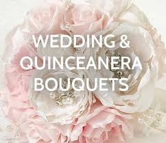 quinceanera bouquets apparel and bridal accessories wedding collectibles