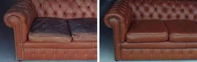 Refurbish Leather Sofa Awesome Leather Restoration Refinishing To Its Original Colour