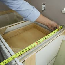 What Is The Standard Height Of Kitchen Cabinets Install Laminate Countertops