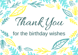 free birthday thank you card printables