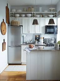 kitchen layout in small space 5 chic organization tips for pint size kitchens gray kitchens