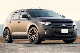 Ford Explorer All Black - tsw donington wheels matte black rims