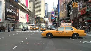 new york city ny november 23 going through times square