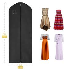 hanging garment bag maidmax breathable suit dress cover with