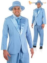 Dumb Dumber Halloween Costumes Mens Bright Suit Pimp Gangster Dumb Dumber Fancy Dress