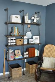 How To Organize Bookshelf Diy Industrial Pipe Shelves Table And Hearth