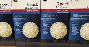 ge led spheres set of 3 costco weekender