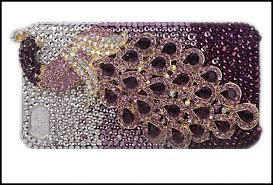 Fine Crystal Fine Crystal Rhinestone 3d Apple Iphone 5 5s 5c 4 4s Skin Case