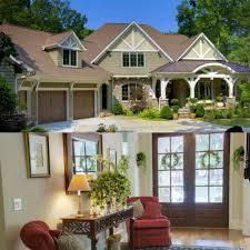 prairie modern house plan plan 93072el elegant master down craftsman house plan