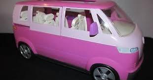 barbie happy family doll volkswagen microbus vw bus van sound horn