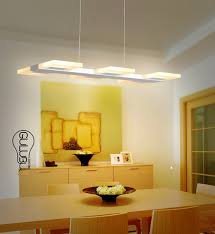 italy dining room led light pendant lamps led strip luminaria bar