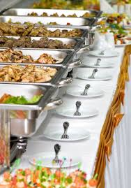 how to set a buffet table with chafing dishes catering services carleton avenue deli