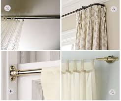 Ceiling Mount Drapery Rod Accessories Ceiling Mount Curtain Rods In Inspiring Ceiling