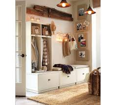 Storage Bench With Hooks by Mudroom Storage Bench With Hook Making Your Own Mudroom Storage