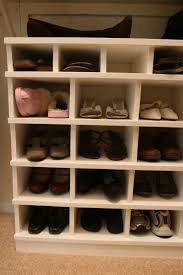 Build Shoe Storage Bench Plans by Ana White Shoe Organizer Diy Projects