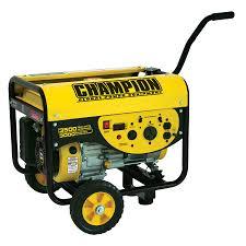 shop champion 3 000 running watt portable generator with champion