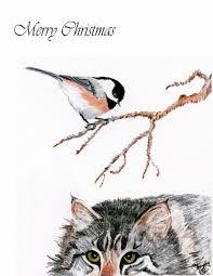 pumpernickel press wildlife cards murphy s studio murphy wallace artist new christmas note