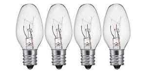 tart warmer light bulb 4 pack light bulb for scentsy wax warmer melter or tart burner 10