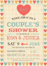 couples bridal shower invitations templates stephenanuno com